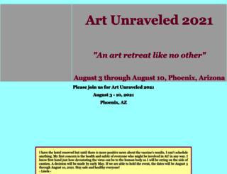 artunraveled.com screenshot