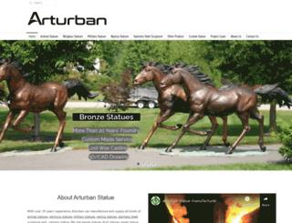 arturbanstatue.com screenshot