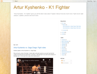 arturkyshenko.blogspot.com screenshot