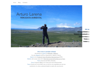arturolarena.es screenshot