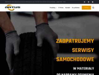 artus.com.pl screenshot