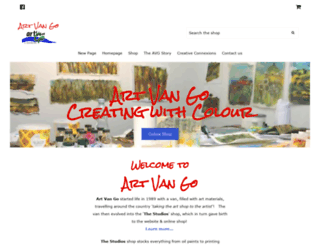 artvango.co.uk screenshot