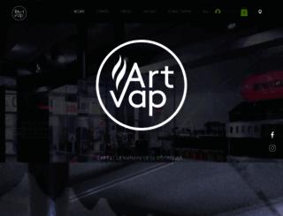 artvap.ch screenshot