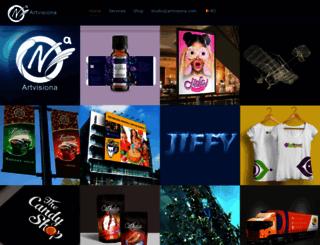 artvisiona.com screenshot