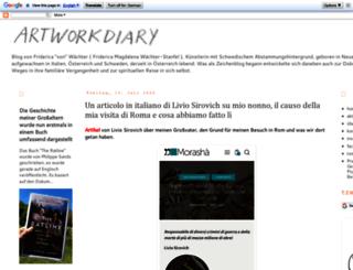 artworkdiary.com screenshot