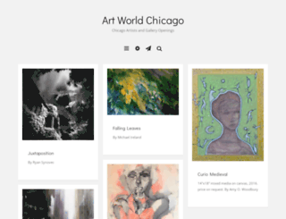 artworldchicago.wordpress.com screenshot