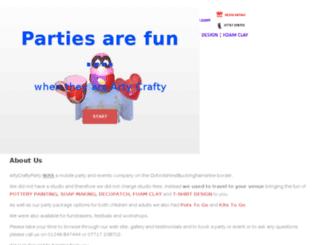artycraftyparty.co.uk screenshot