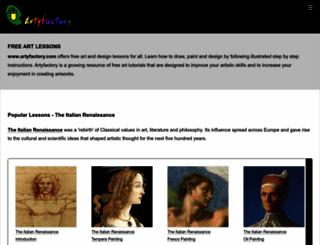 artyfactory.com screenshot