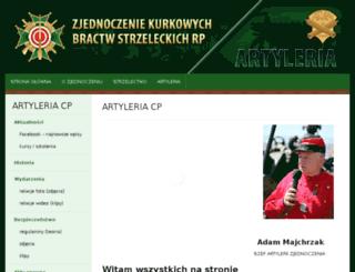 artyleria.bractwakurkowe.pl screenshot