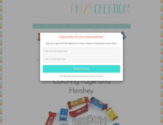 artzycreations.com screenshot