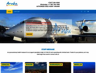 arubaairlines.com screenshot