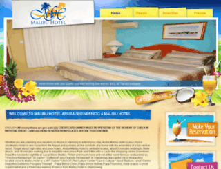 arubamalibu.com screenshot