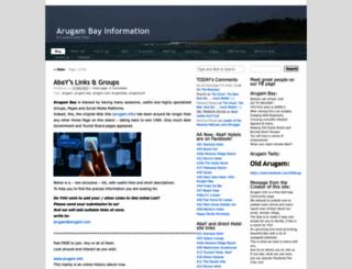 arugam.info screenshot