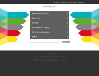 arunnath.com screenshot