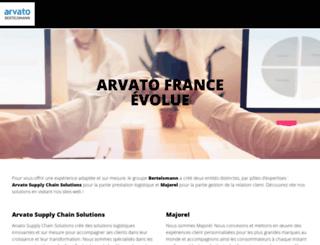 arvato.fr screenshot