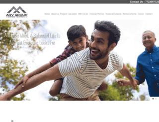 arvgroupindia.com screenshot