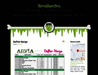 arviastar.wordpress.com screenshot