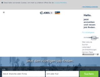 arwa.jobs.de screenshot