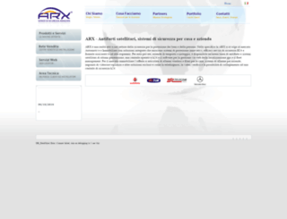 arxsrl.eu screenshot