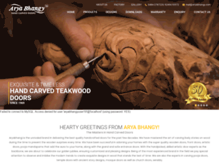 aryabhangy.com screenshot