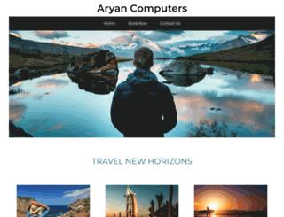 aryancomputers.com screenshot