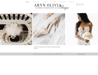 arynoliviadesigns.com screenshot