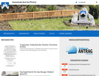 arzl-pitztal.tirol.gv.at screenshot
