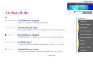 arzt.kreisarzt.de screenshot