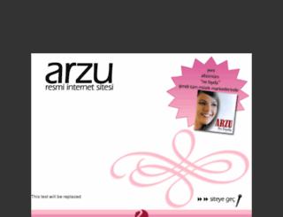 arzu-sahin.com screenshot