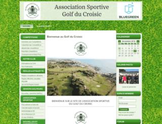 as-golf-du-croisic.asso-web.com screenshot