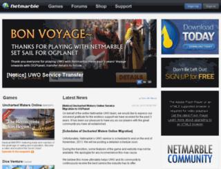 as.netmarble.com screenshot