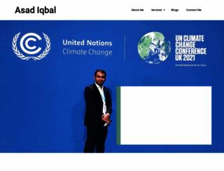 asad-iqbal.com screenshot