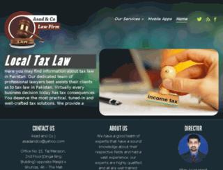asadandco.com screenshot