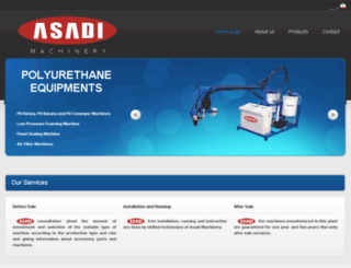 asadi-machinery.com screenshot