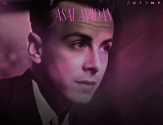 asafavidanmusic.com screenshot