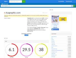 asagraphic.com.zigstat.com screenshot