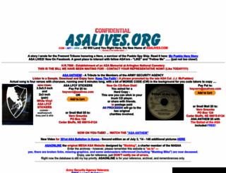 asalives.org screenshot