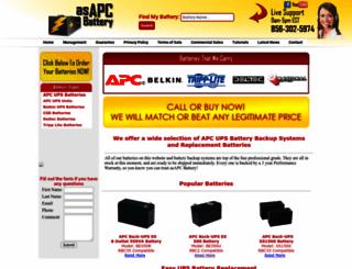 asapcbattery.com screenshot