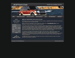asapneedaloan.com screenshot