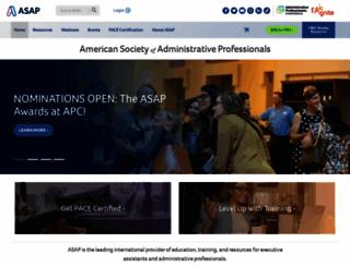 asaporg.com screenshot