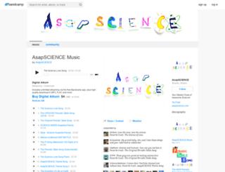 asapscience.bandcamp.com screenshot