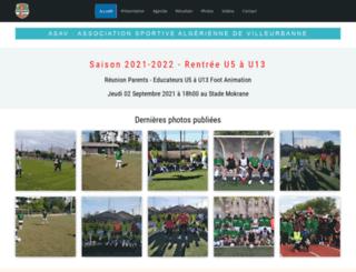 asav.fr screenshot