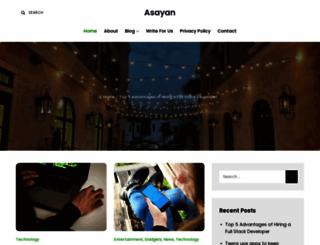 asayan.com screenshot