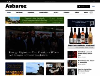 asbarez.com screenshot