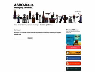 asbojesus.wordpress.com screenshot