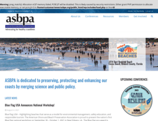 asbpa.org screenshot