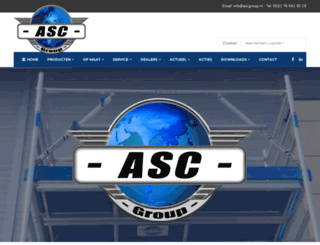 asc-bv.nl screenshot