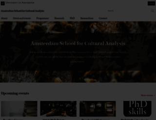asca.uva.nl screenshot