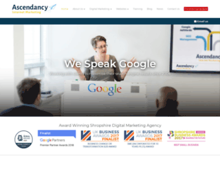 ascendancyinternetmarketing.co.uk screenshot