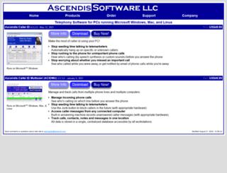 ascendis.com screenshot